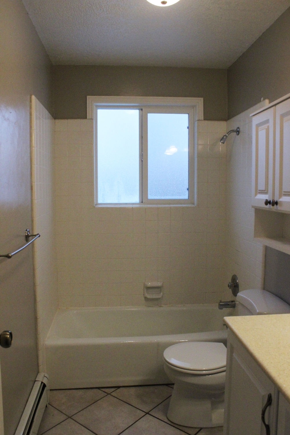 s painted great painting i simple post a our and including bathroom gray paint ceramic floor to floors your on tile diy prep how bathrooms