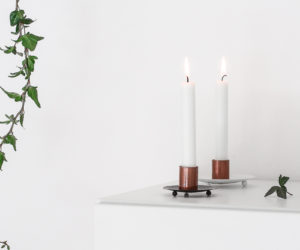 DIY Design Inspired: Metal Candle Holders