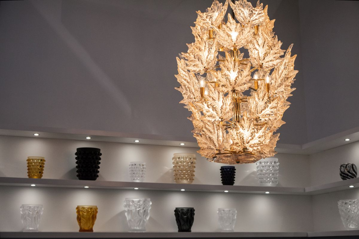 champs elysees chandelier clear crystal