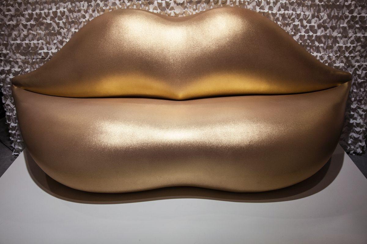 Gold - rosa Lady - Lippen