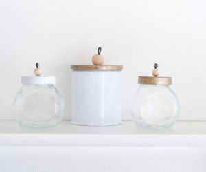 DIY Customized Storage Jars