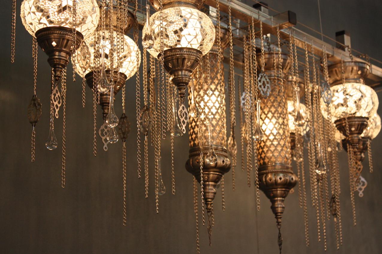 mcHale boho chandelier