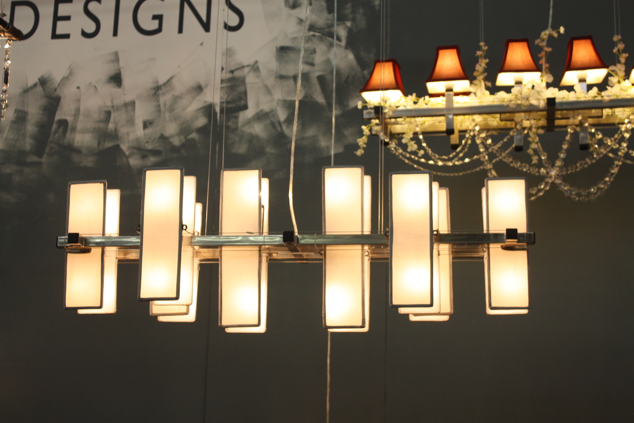 mcHale white chandelier
