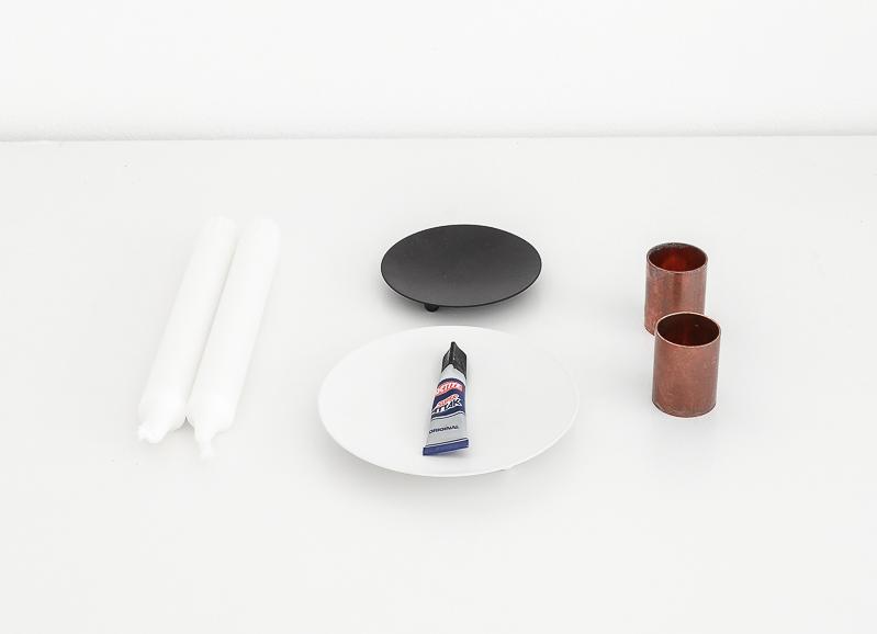 metal candles holder - supplies