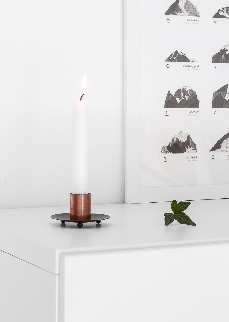 DIY Metal candle holder