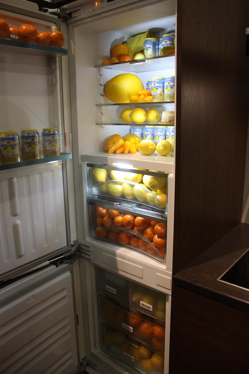 mile fridge interior