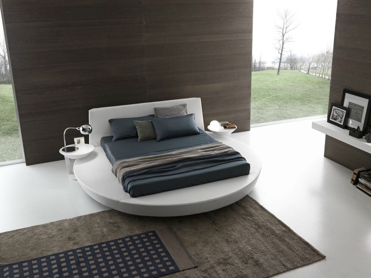 round size bedroom design