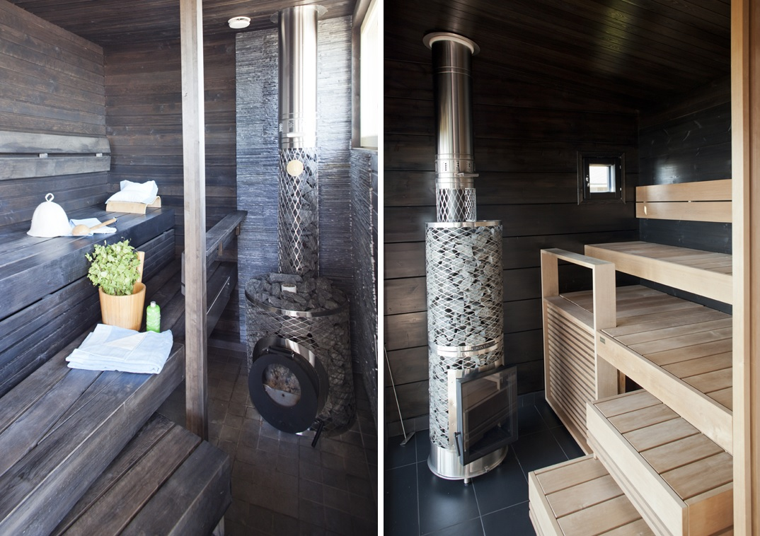 simple sauna design