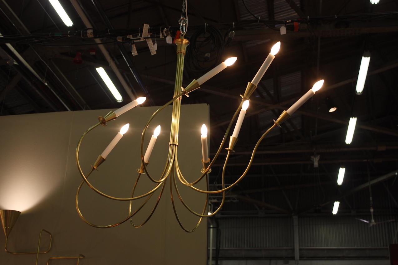 windswept chandelier