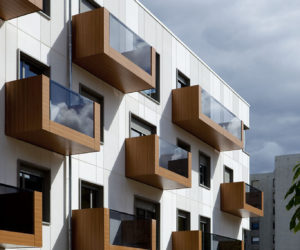 Stylish Balconies Become Integral Parts Of Their Building's Facade