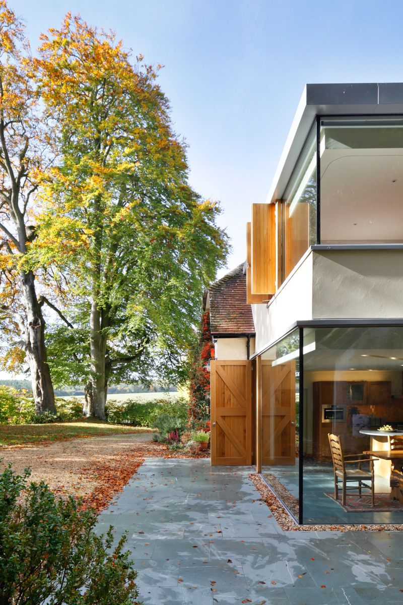 A Cantilevered Glazed Extension by Stephen Marshall Architects - Outdoor