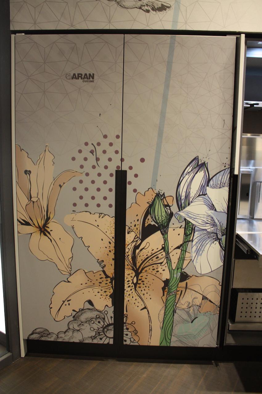 Aran Floral doors