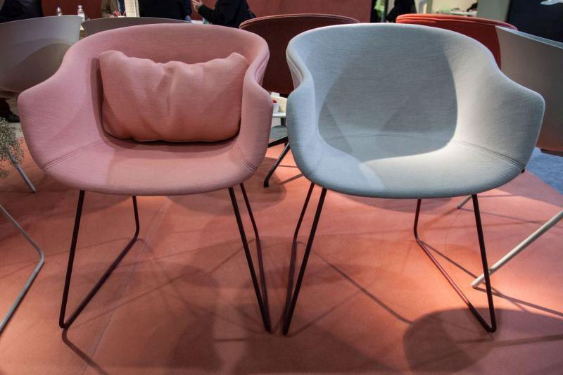 Bai pastel armchair