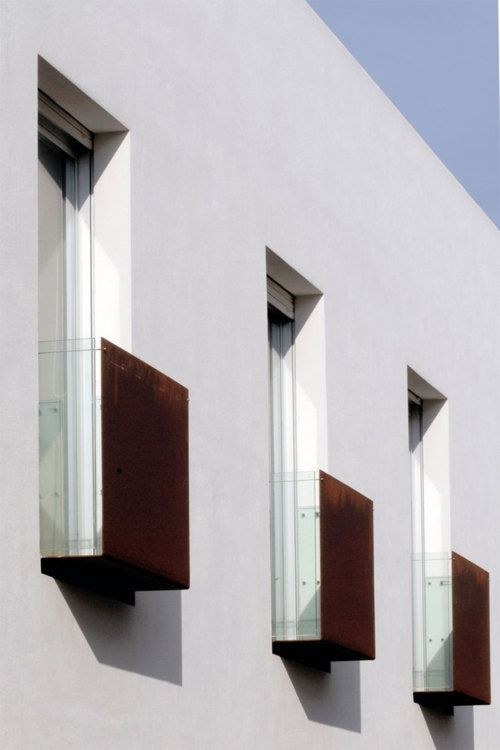 Stylish Balconies Become Integral Parts Of Their Building\'s Facade
