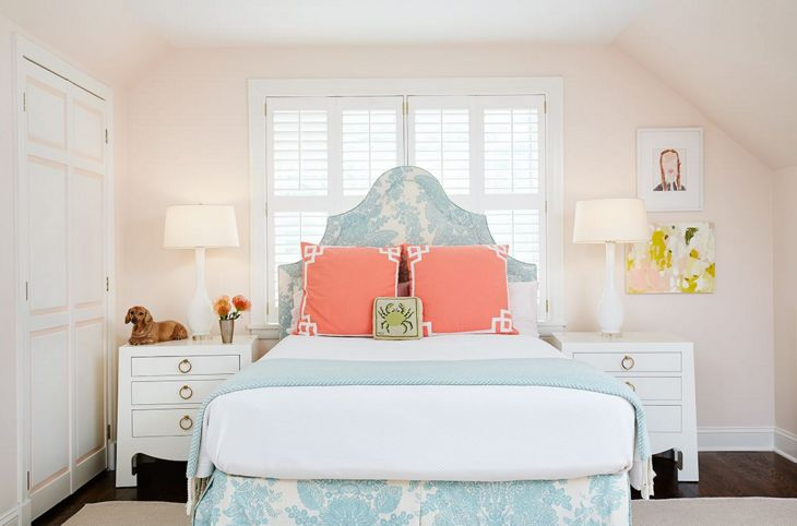 Beach inspired bedroom design
