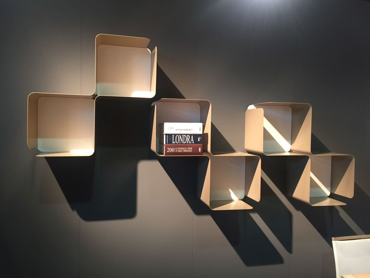 Boxed shelves