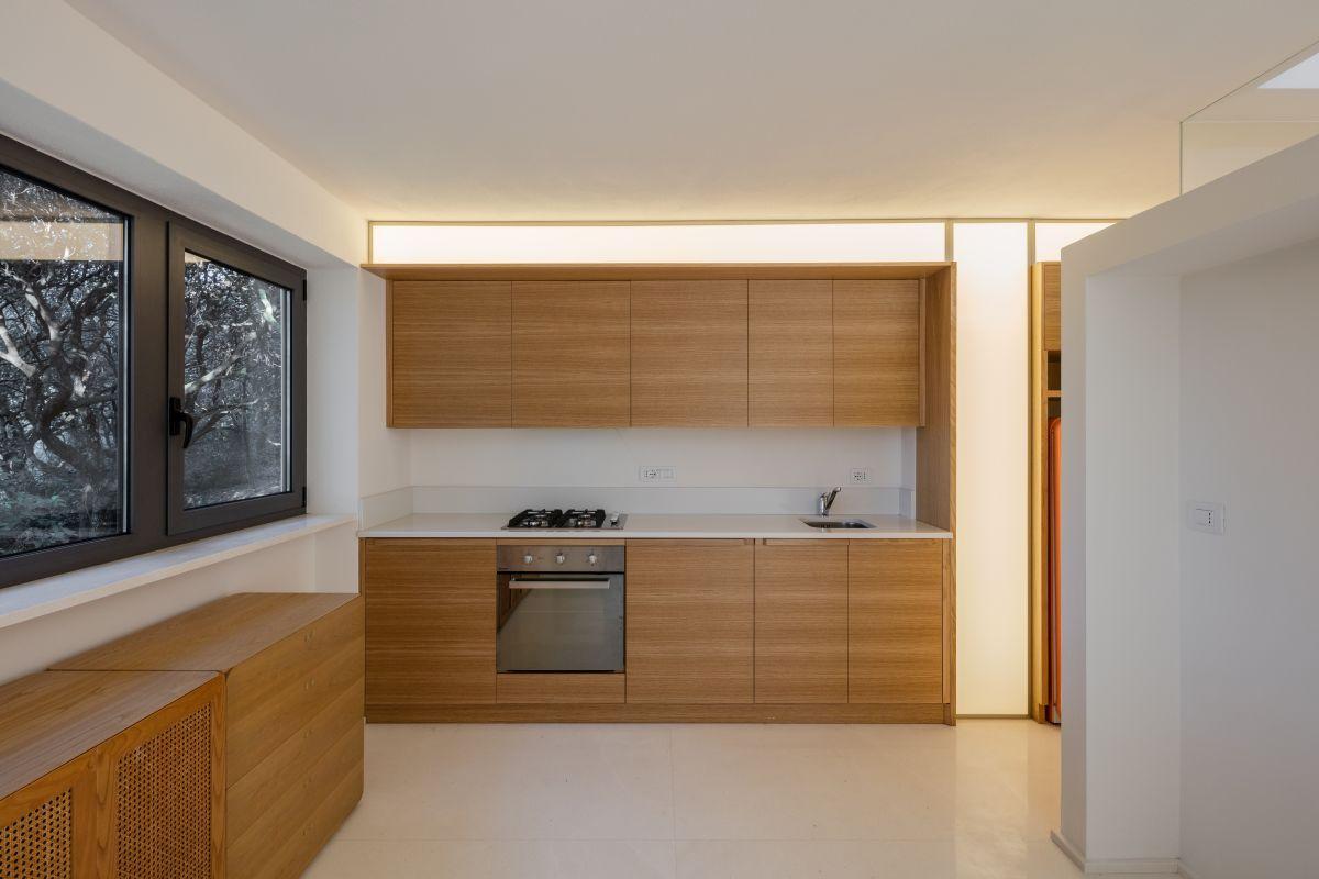 Casa nel Bosco kitchen interior