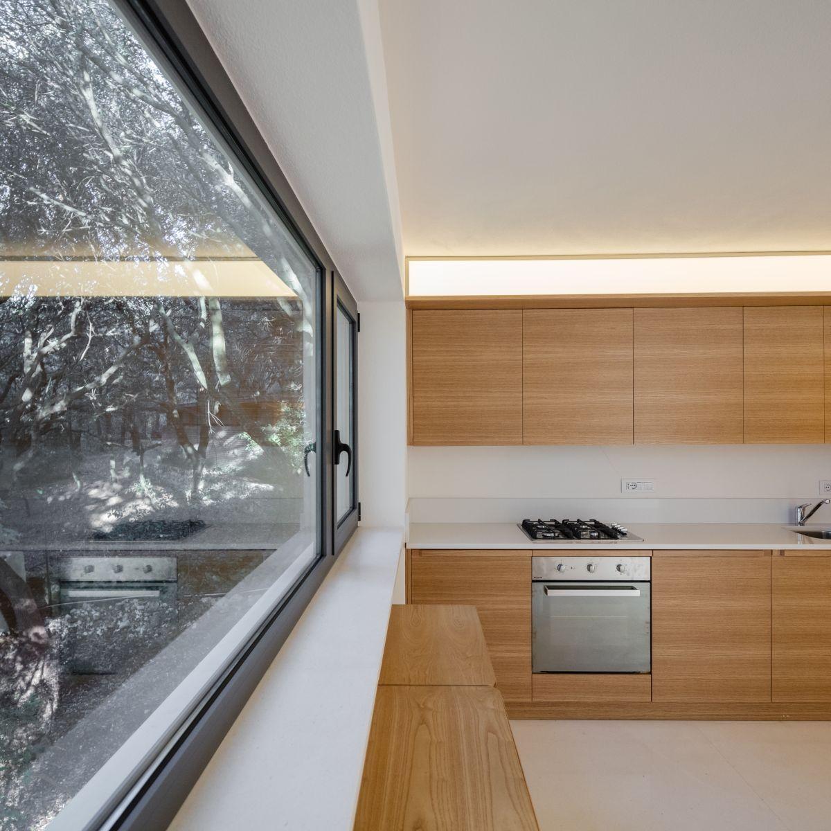 Casa nel Bosco kitchen view