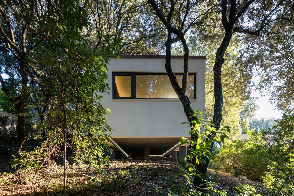 Casa nel Bosco smaller side windows