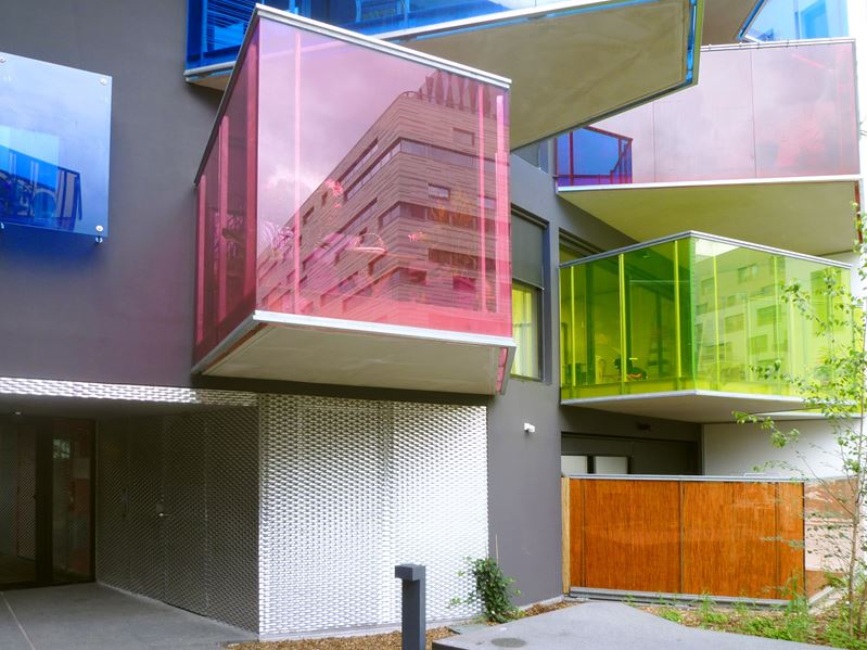 Stylish Balconies Become Integral Parts Of Their Buildings Facade