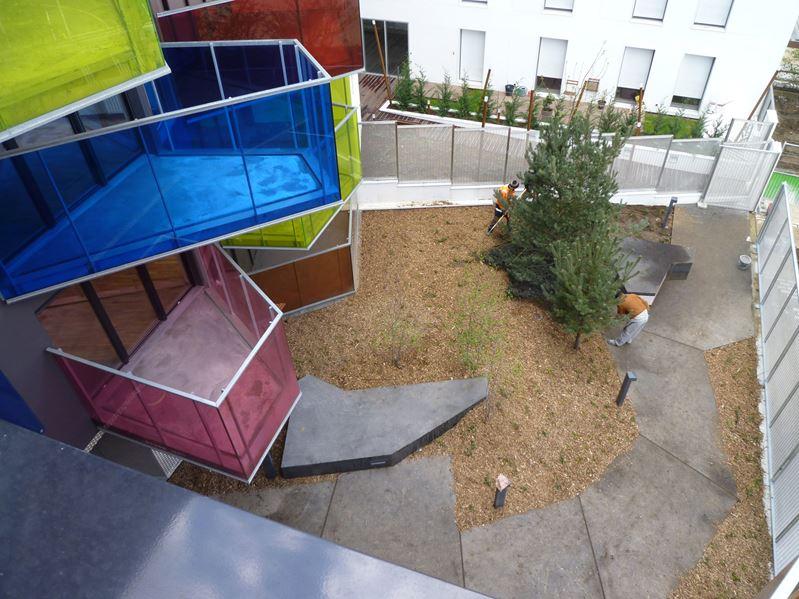 Colorful and futuristic balconies design ideas top