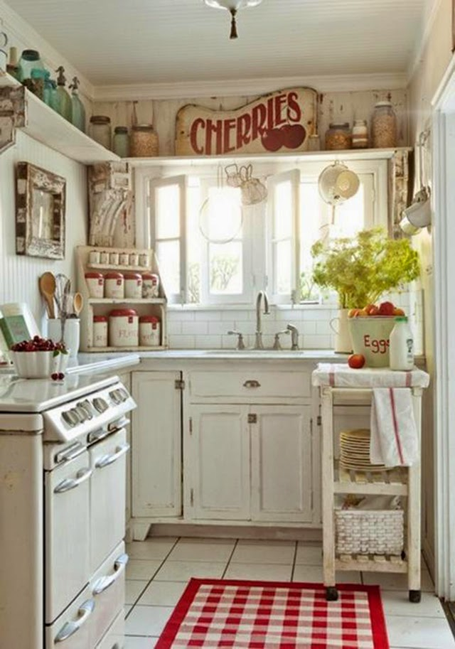 Cottage charm kitchen