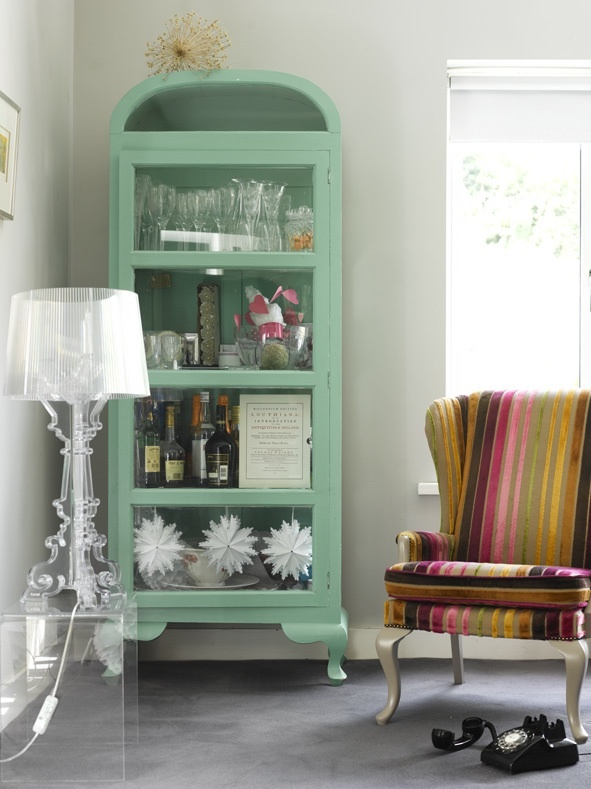 Curio mint cabinets