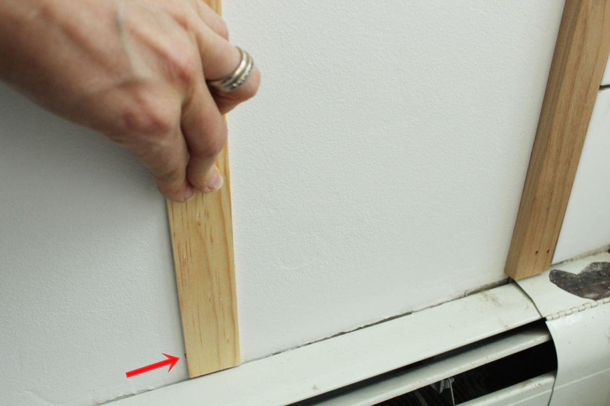 DIY Board and Batten - cut