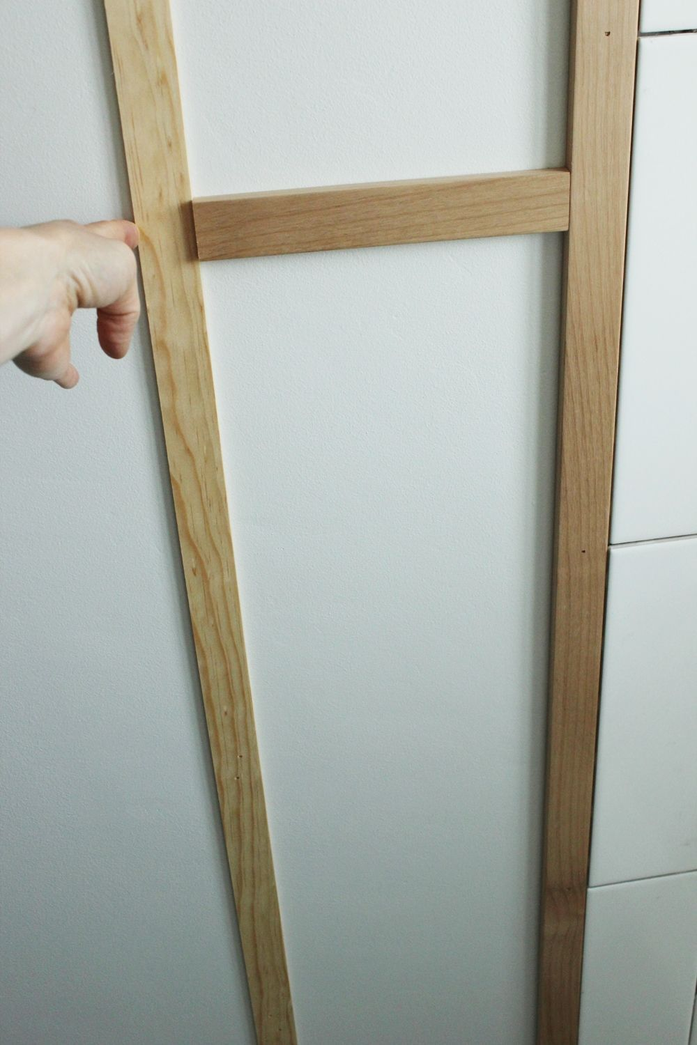 DIY Board and Batten nail