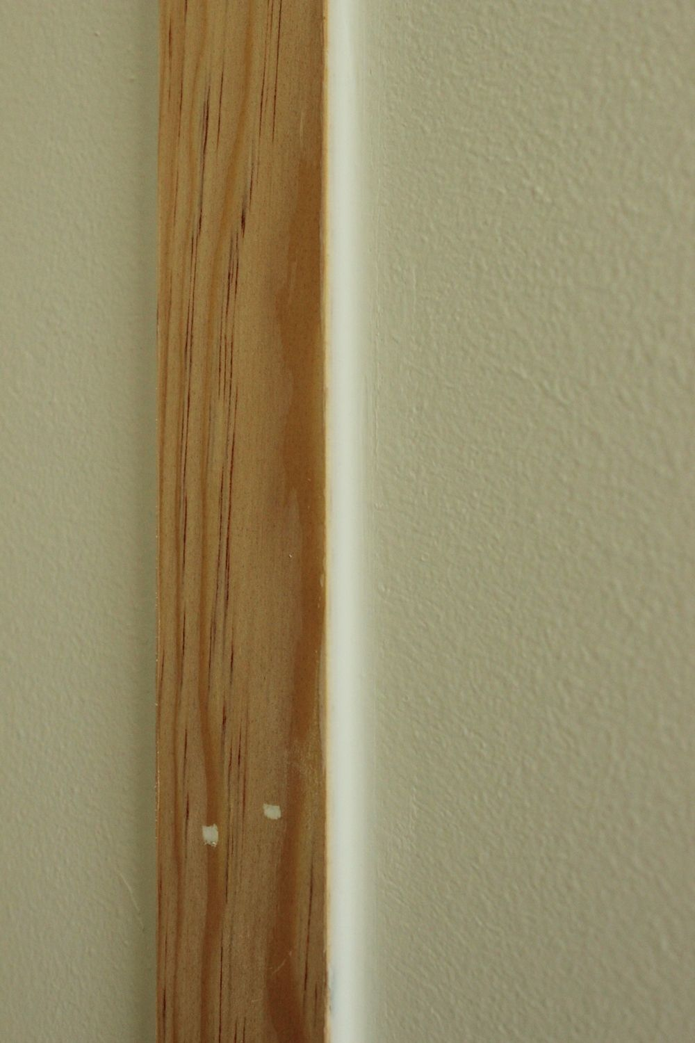 DIY Board and Batten not cover the wall