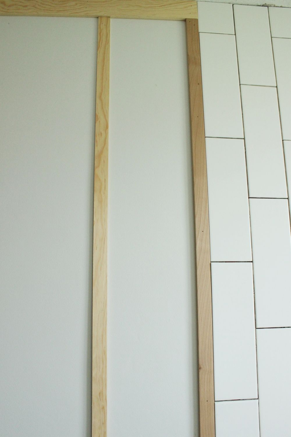 DIY Board and Batten -second batten