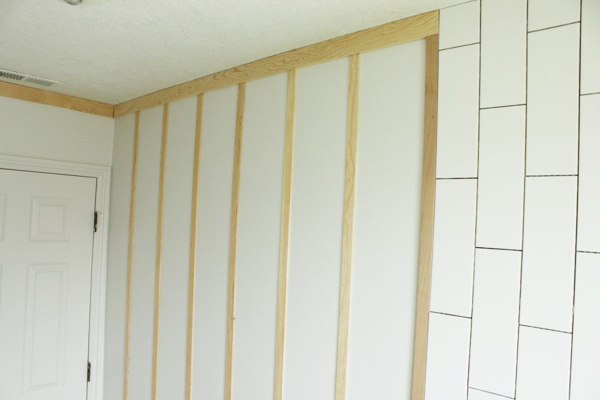 DIY Board and Batten -wall