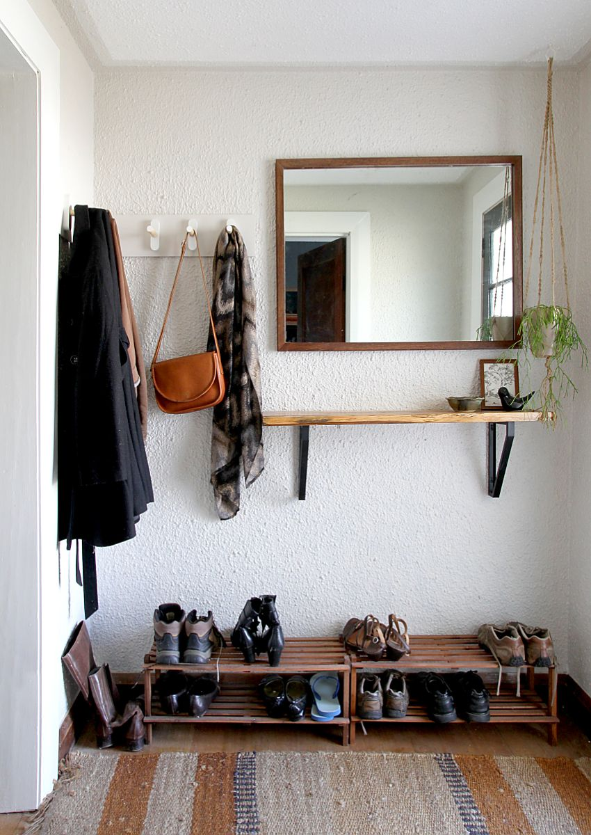 DIY Coat Rack U2013 Tutorial And Inspiration Ideas