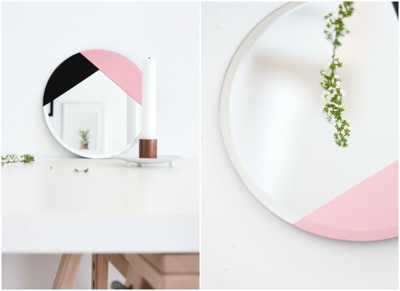 DIY Design Inspired Mirror Collage