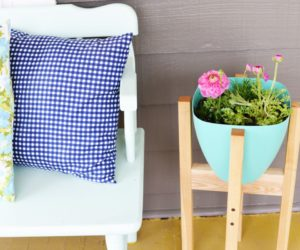 DIY Mid-Century Plant Stand – A Step By Step Guide