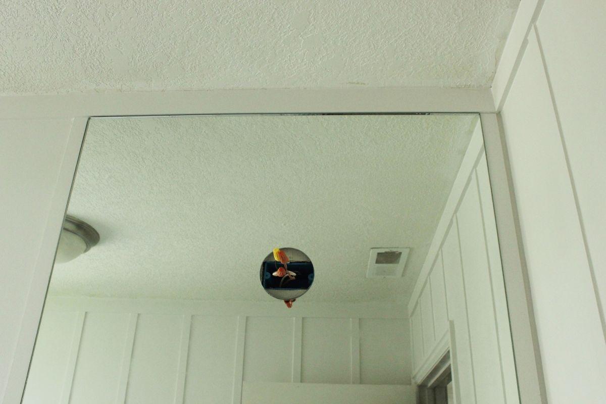 DIY Prof Install Mirror- center