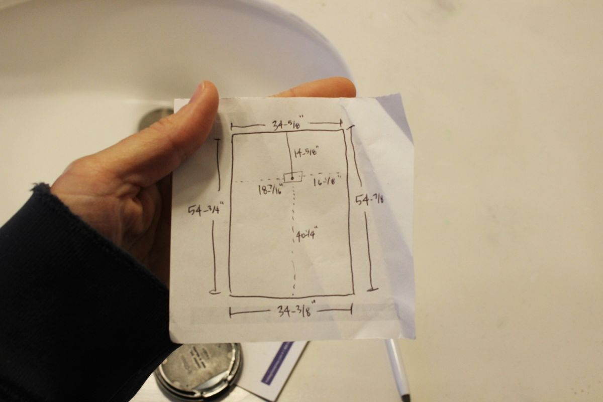 DIY Prof Install Mirror - plan