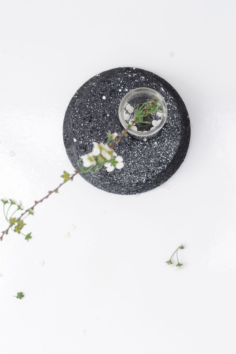 DIY Single Splatter Vase Top