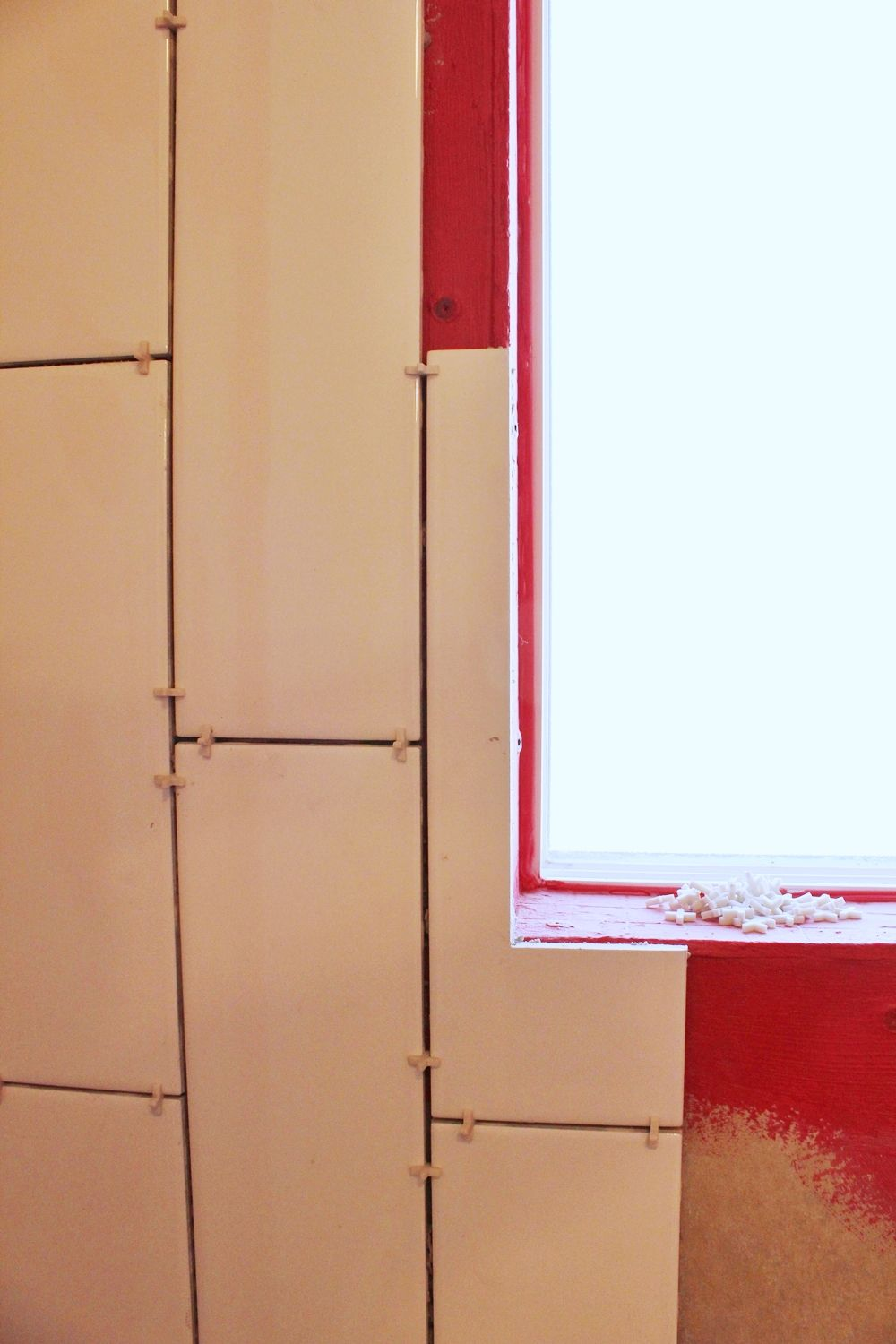 DIY Tile Shower Tub Surround-admire