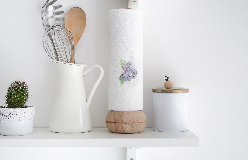 DIY Paper Towel Holder