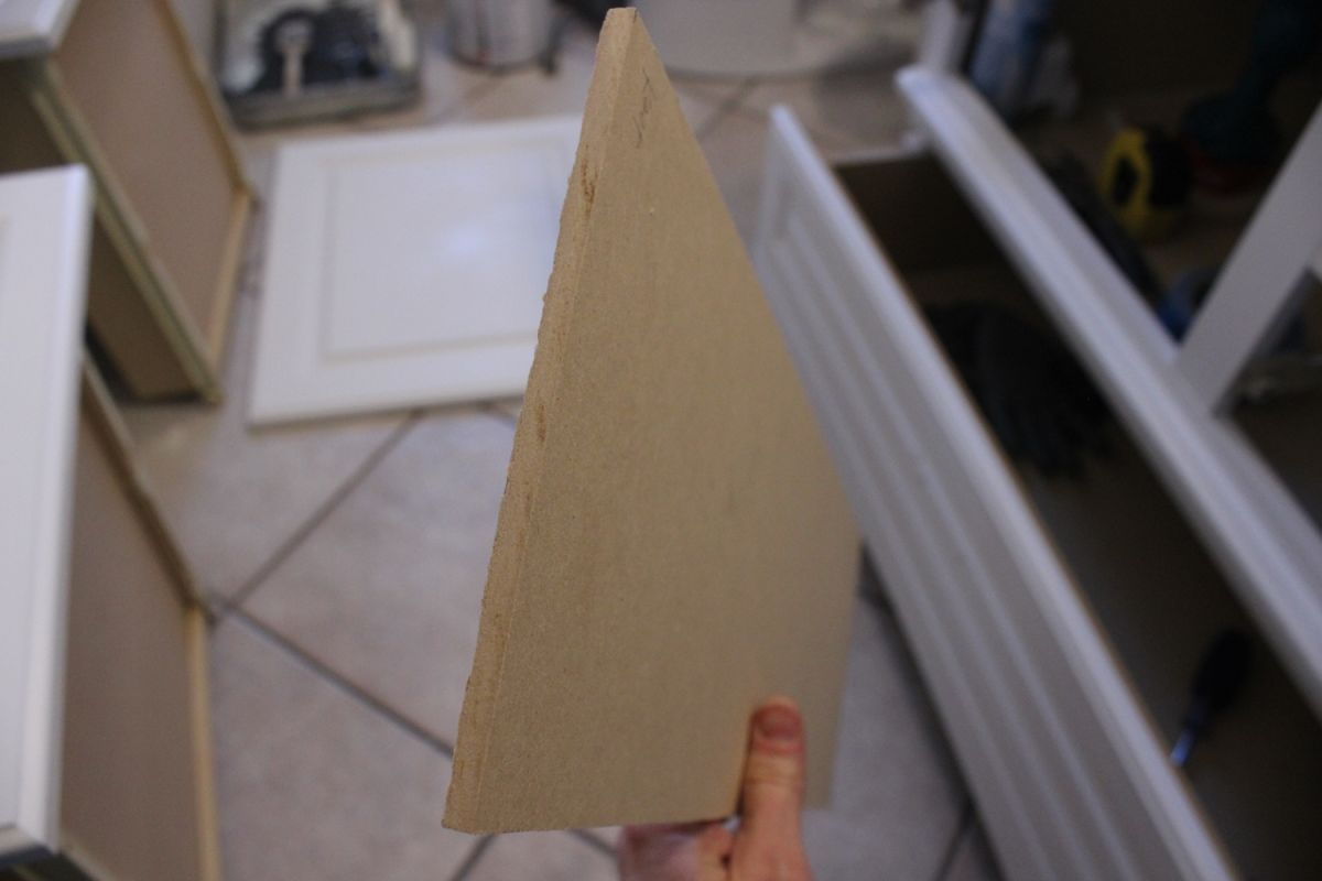 DIY Upgrade Bathroom Vanit-cabinet doors