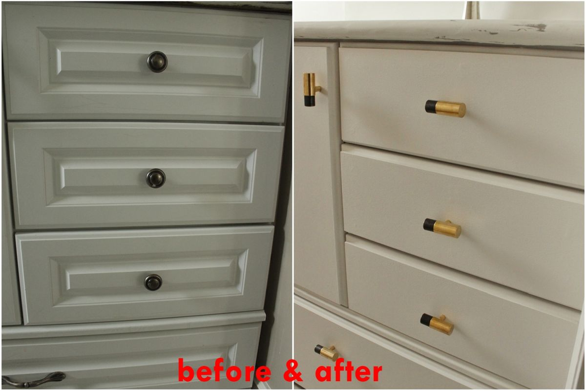 diy upgrade bathroom vanity after and before renovation - Bathroom Cabinets Before And After