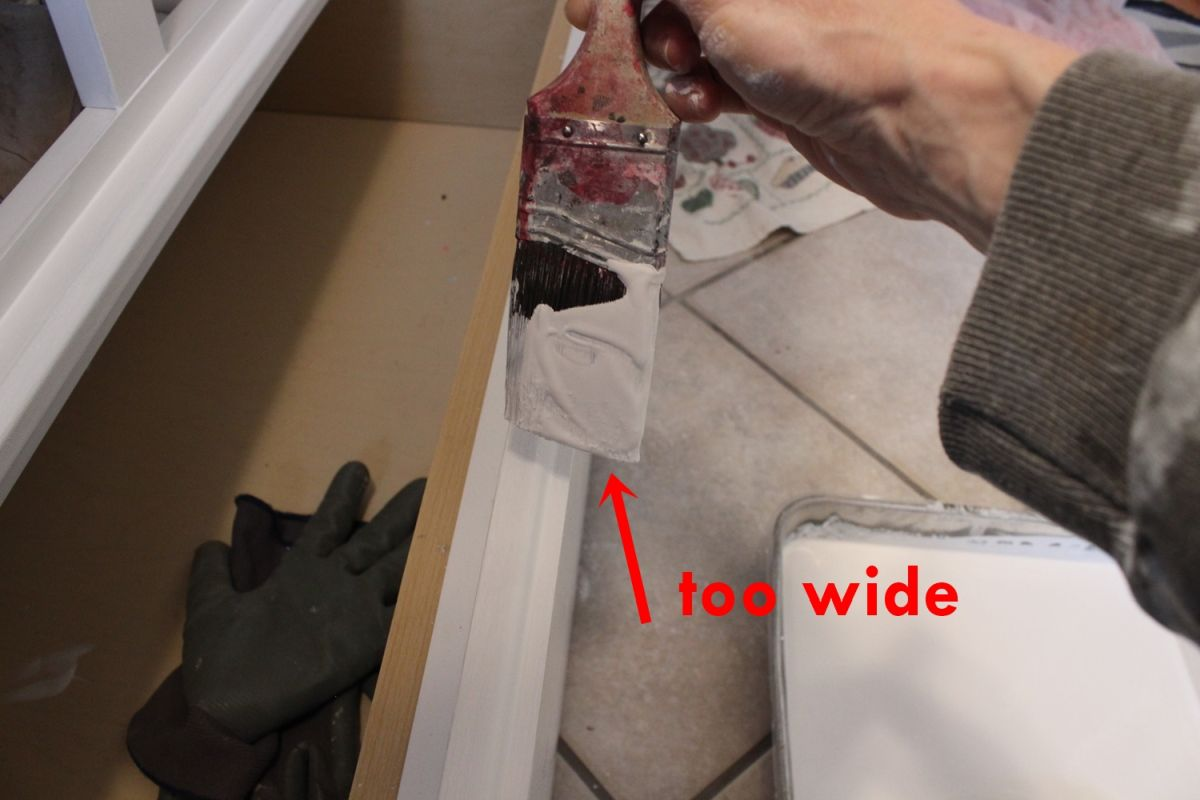 DIY Upgrade Bathroom Vanity- wide
