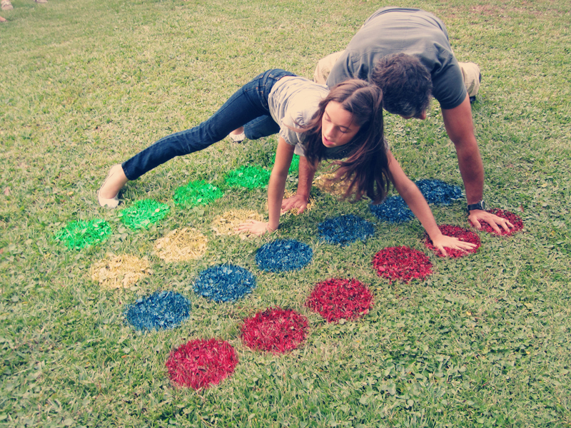 DIY backyard twister