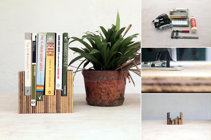 DIY book stand display