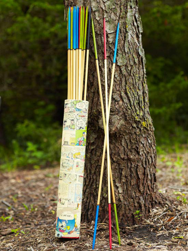 DIY giant pickup sticks