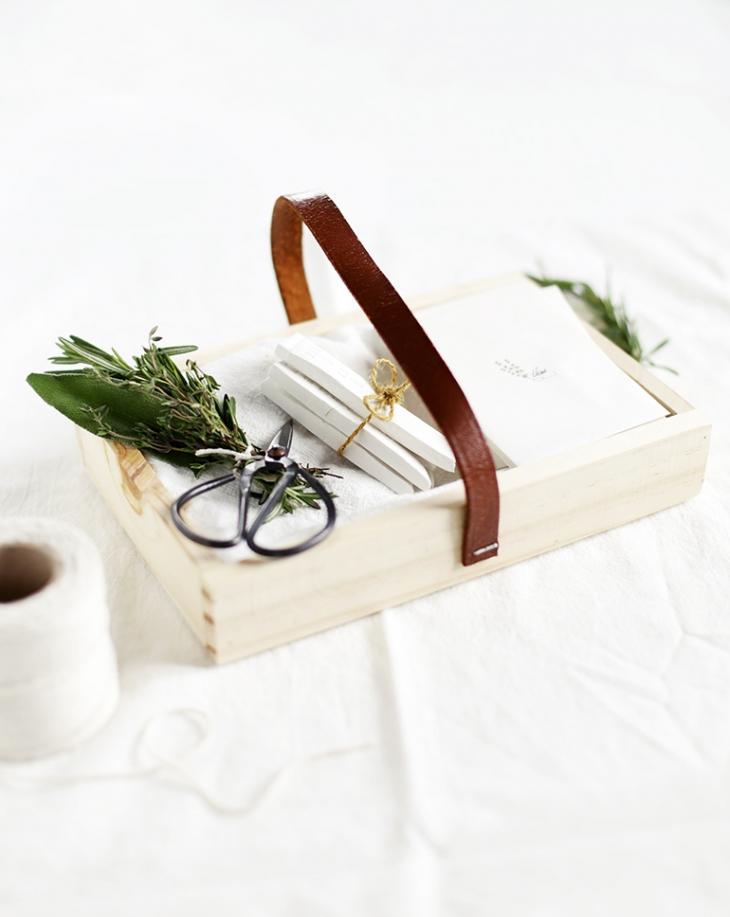 DIY herb garden starter kit