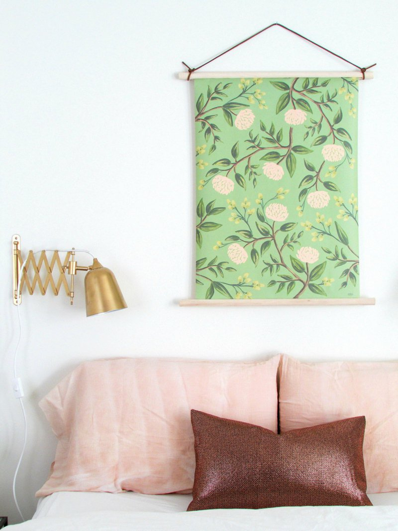 25 diy wall hangings to refresh your decor for Making wall decorations