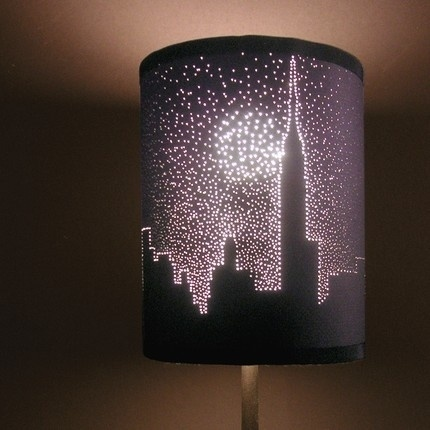 Dark lampshade