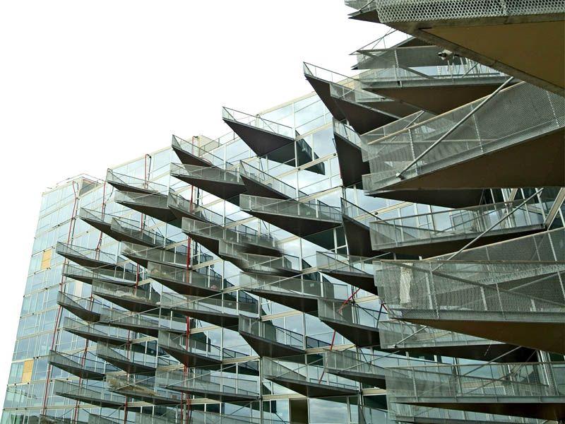 Denmark - Copenhagen - Orestad - VM Houses